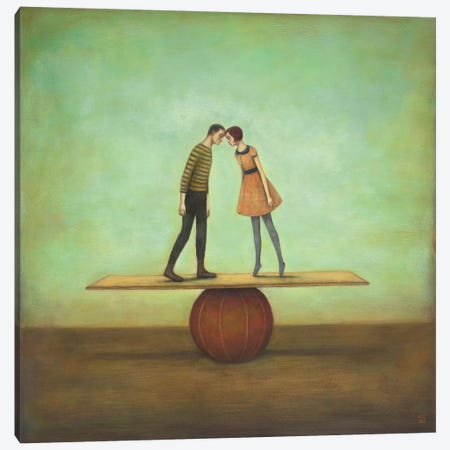 Finding Equilibrium Canvas Print #ICS260} by Duy Huynh Canvas Art