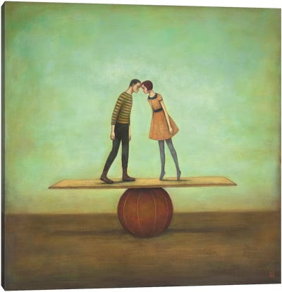 Finding Equilibrium Canvas Art Print