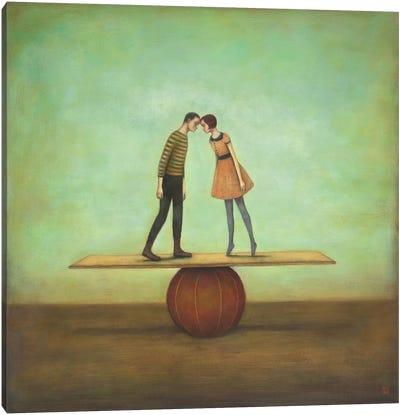 Finding Equilibrium Canvas Art Print