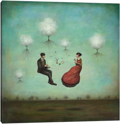 Gravitea For Two Canvas Art Print