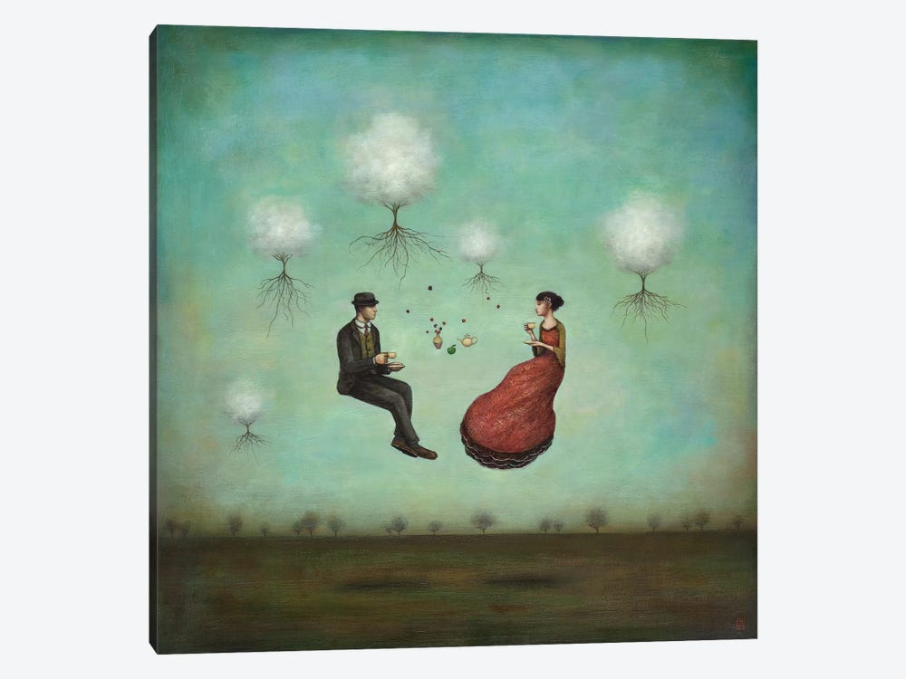 Gravitea For Two by Duy Huynh 1-piece Canvas Art Print