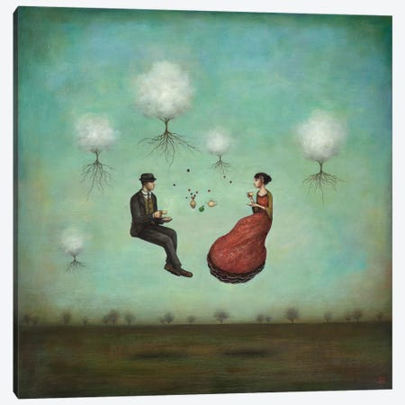 Gravitea For Two Canvas Print #ICS262} by Duy Huynh Canvas Wall Art