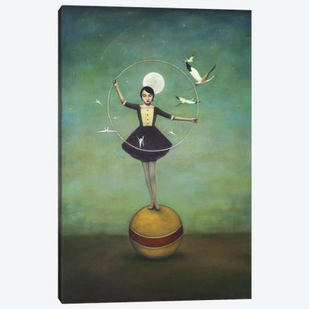 Luna's Circle Canvas Print #ICS264} by Duy Huynh Canvas Art Print