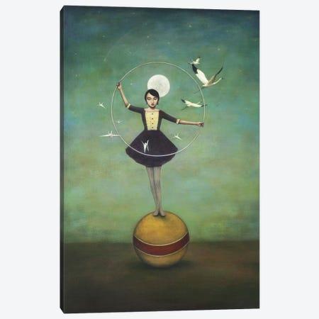 Luna's Circle Canvas Print #ICS264} by Duy Huynh Canvas Art Print
