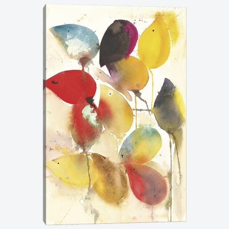 Leaves Falling I Canvas Print #ICS273} by Karin Johannesson Art Print