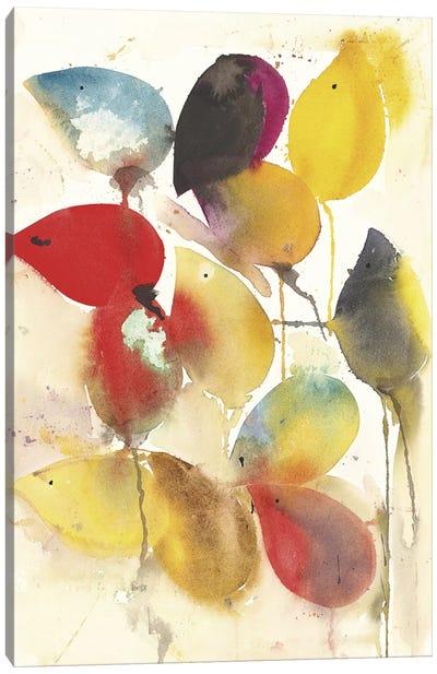 Leaves Falling I Canvas Art Print