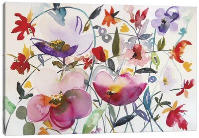 Bohemian Garden Canvas Print #ICS275