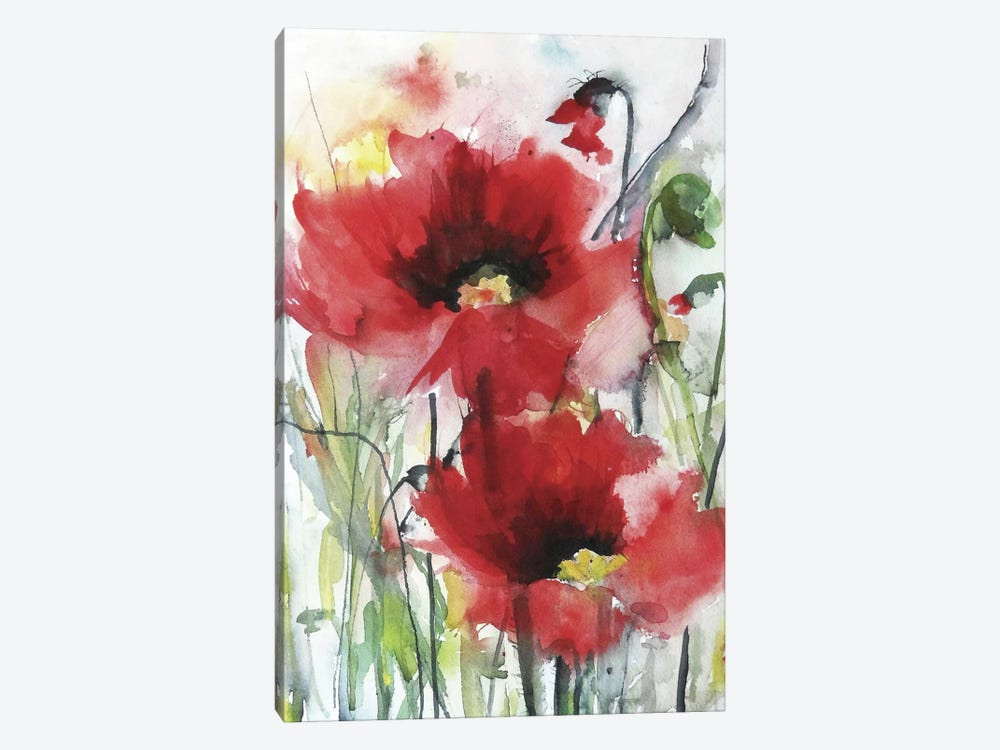 Red Poppies by Karin Johannesson 1-piece Art Print