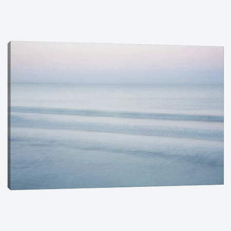 Three Waves, Crescent Beach Canvas Print #ICS279} by John Juracek Canvas Art Print