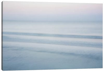 Three Waves, Crescent Beach Canvas Art Print