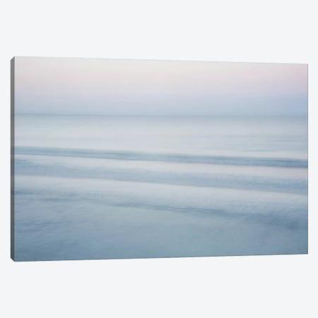 Three Waves, Crescent Beach Canvas Print #ICS279} by John Juracek Canvas Art Print