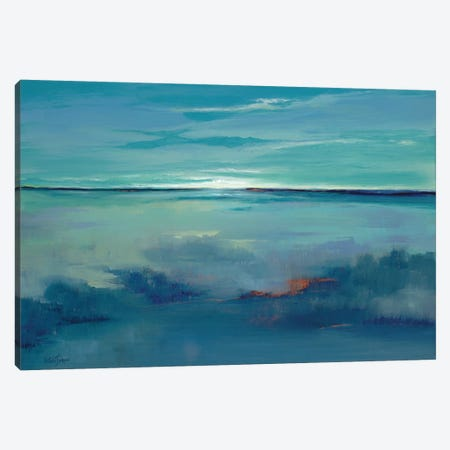 Blue Ciel Canvas Print #ICS282} by Victoria Jackson Canvas Art
