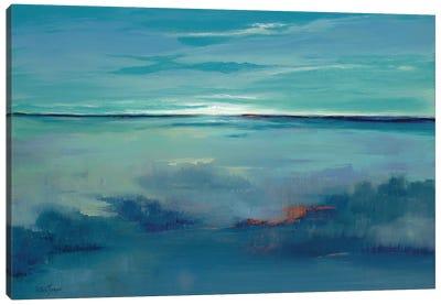 Blue Ciel Canvas Art Print
