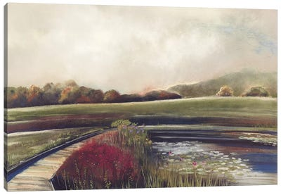 Edge of Autumn Canvas Art Print