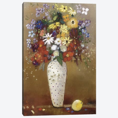 After Redon Canvas Print #ICS284} by Aleah Koury Canvas Print