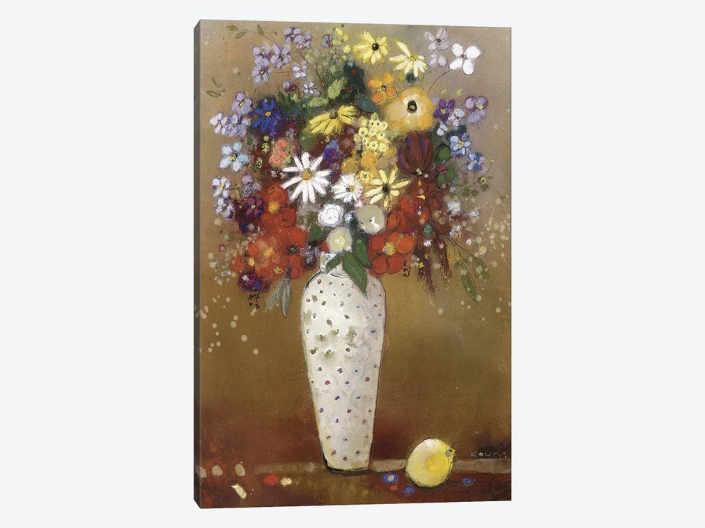 After Redon by Aleah Koury 1-piece Canvas Print
