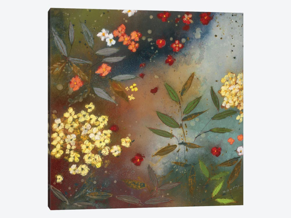 Gardens in the Mist I by Aleah Koury 1-piece Canvas Art