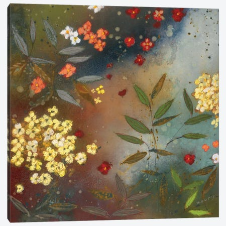 Gardens in the Mist I Canvas Print #ICS285} by Aleah Koury Canvas Art Print