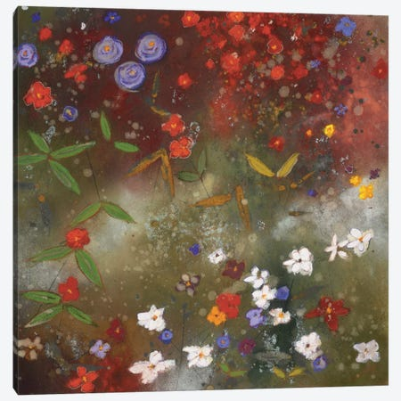 Gardens in the Mist III Canvas Print #ICS287} by Aleah Koury Canvas Print