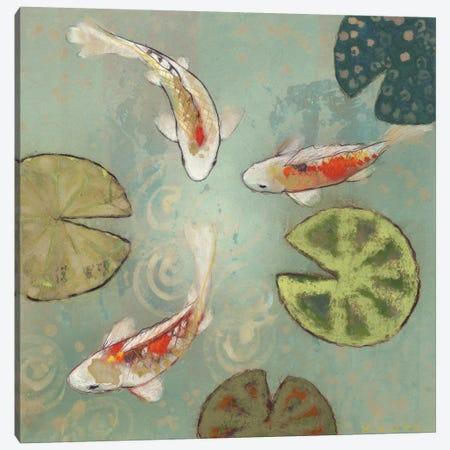 Floating Motion II Canvas Print #ICS289} by Aleah Koury Canvas Art
