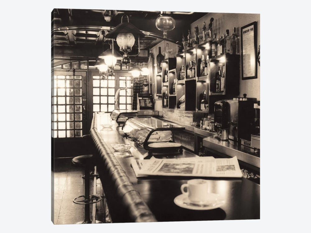 Caffè, Pamplona by Alan Blaustein 1-piece Canvas Art