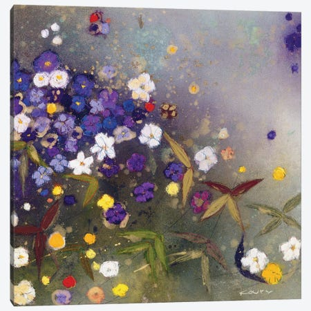 Gardens in the Mist IX Canvas Print #ICS290} by Aleah Koury Art Print