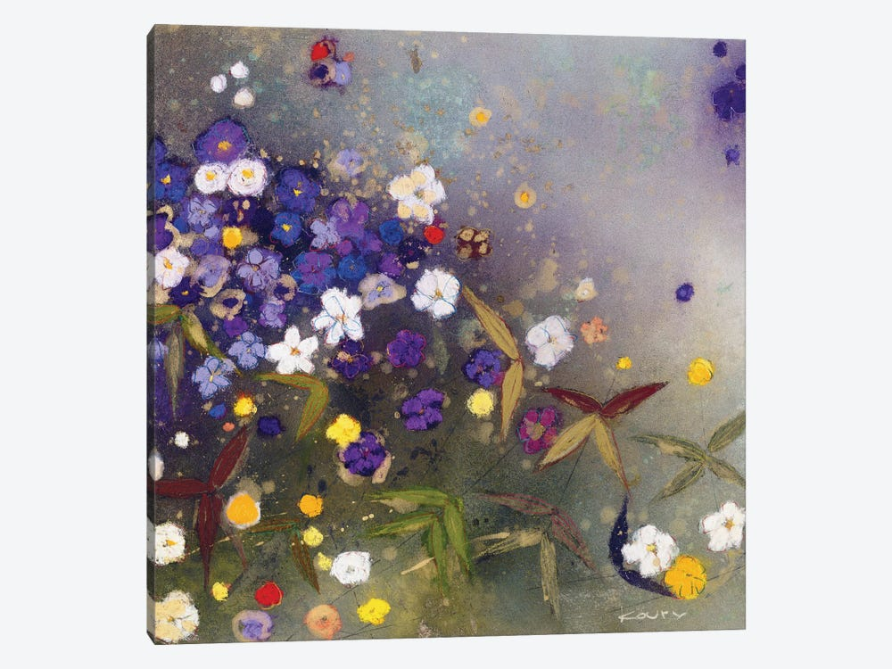 Gardens in the Mist IX by Aleah Koury 1-piece Canvas Artwork