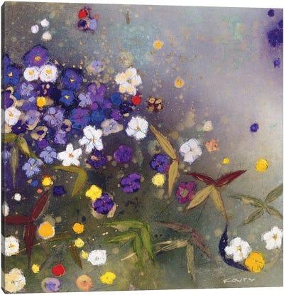 Gardens in the Mist IX Canvas Art Print