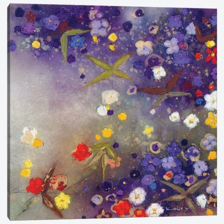Gardens in the Mist X Canvas Print #ICS291} by Aleah Koury Art Print