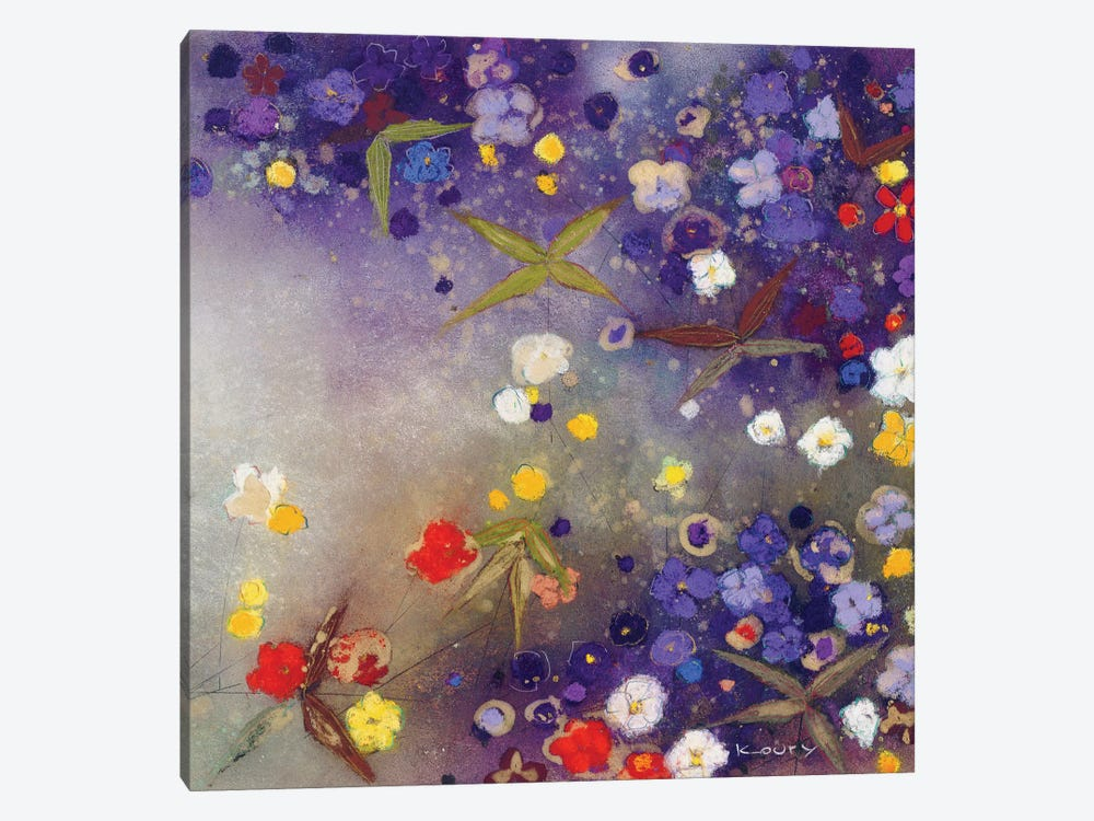 Gardens in the Mist X by Aleah Koury 1-piece Canvas Art Print