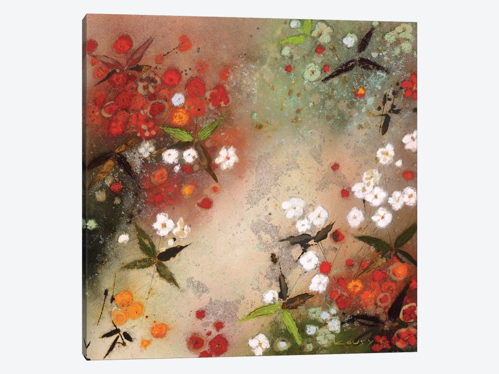 Gardens in the Mist XII by Aleah Koury 1-piece Canvas Artwork