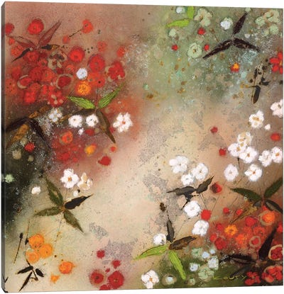 Gardens in the Mist XII Canvas Art Print
