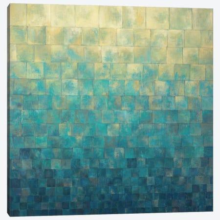 Cascade Canvas Print #ICS293} by Janelle Kroner Art Print
