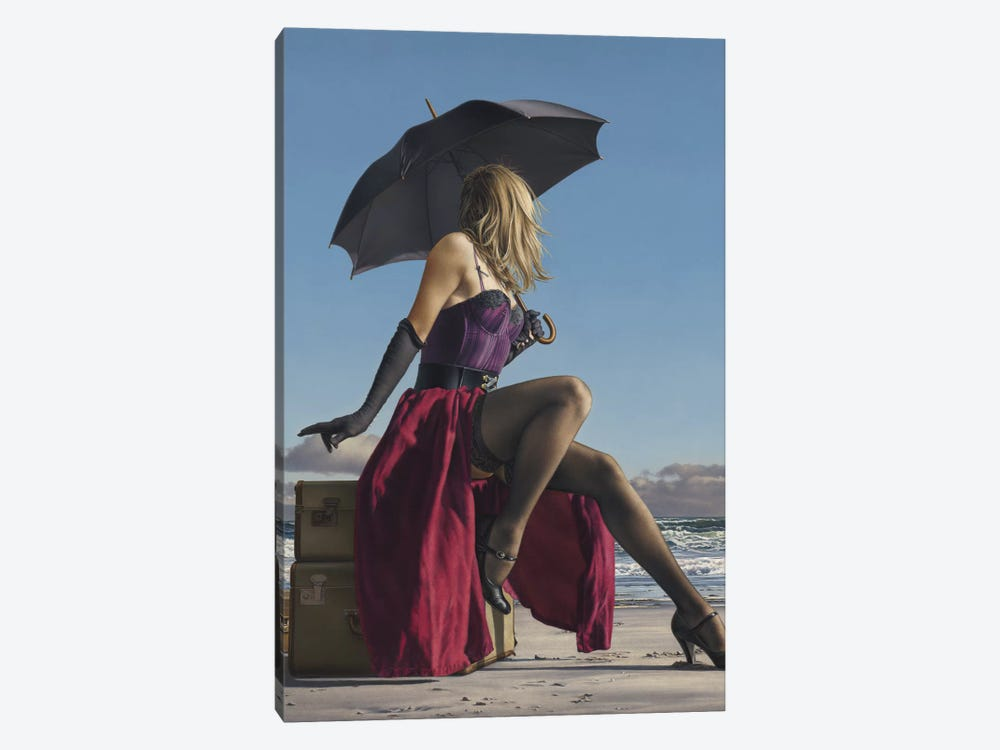 On Crescent Beach by Paul Kelley 1-piece Canvas Art Print