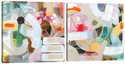 Changed My Mind Diptych Canvas Art Print