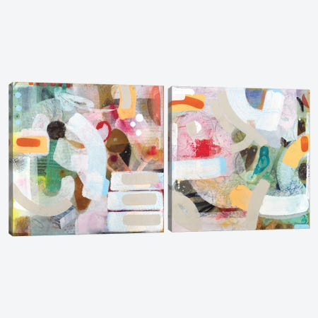 Changed My Mind Diptych Canvas Print Set #ICS2HSET016} by Aleah Koury Canvas Art Print