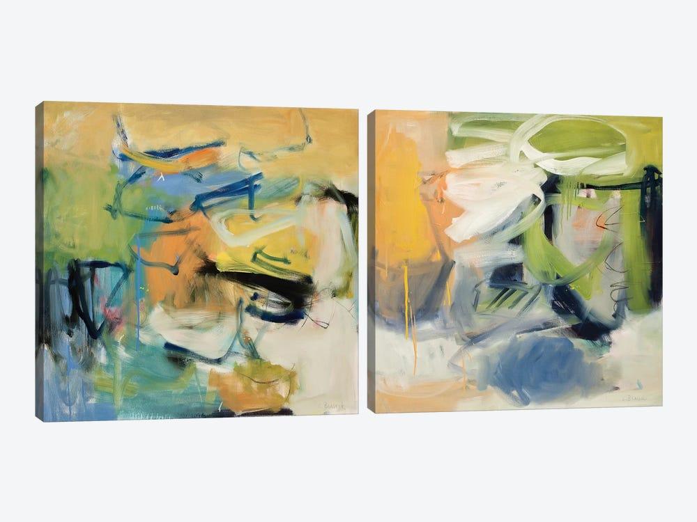 All That Jazz Diptych by Clara Blalock 2-piece Canvas Artwork