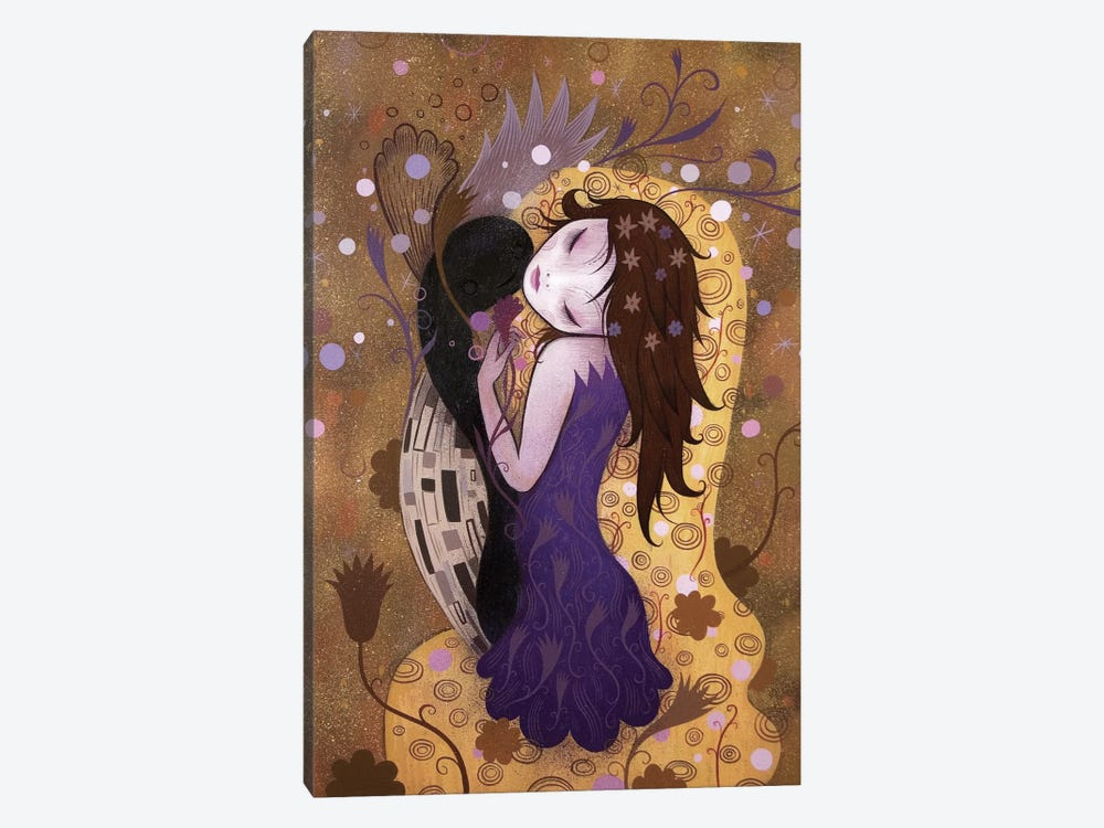 After the Kiss by Jeremiah Ketner 1-piece Canvas Artwork