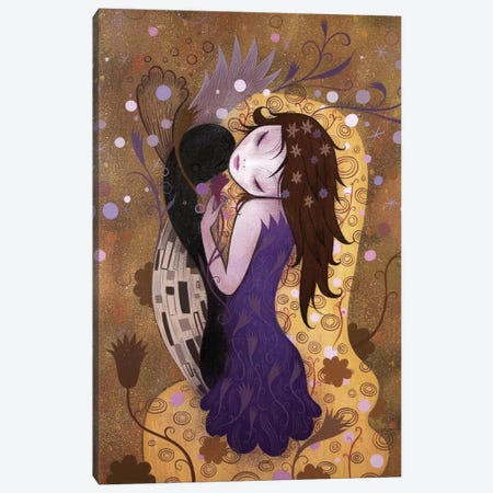 After the Kiss Canvas Print #ICS304} by Jeremiah Ketner Canvas Art