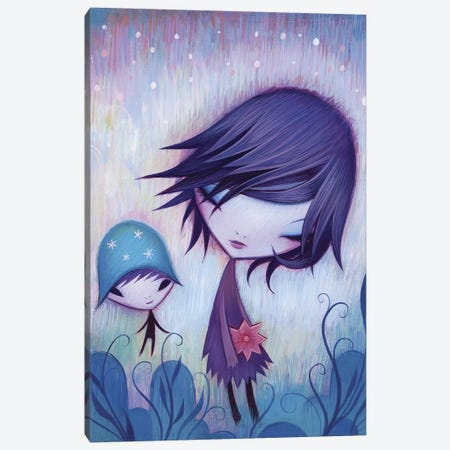 Happy I Met You Canvas Print #ICS307} by Jeremiah Ketner Canvas Art
