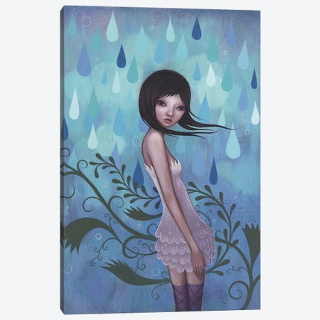 Morning Showers Canvas Print #ICS308} by Jeremiah Ketner Canvas Print
