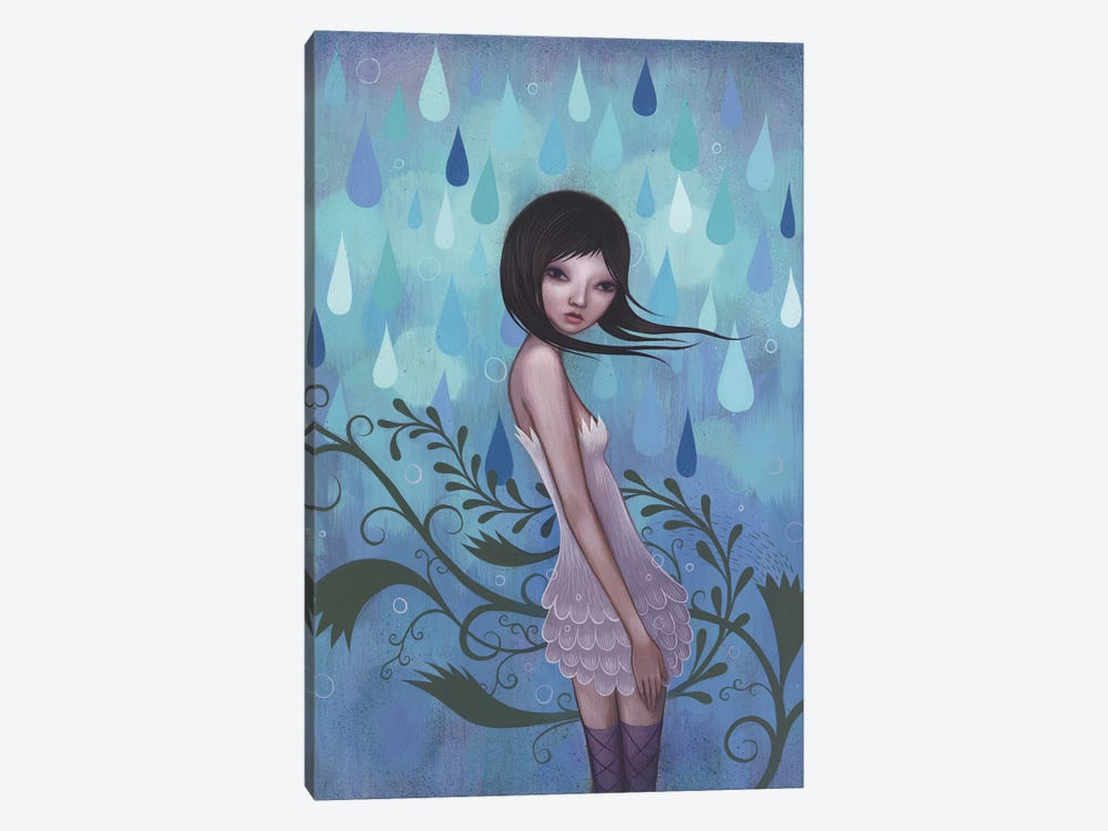 Morning Showers by Jeremiah Ketner 1-piece Canvas Art