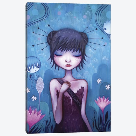 On the Journey Canvas Print #ICS309} by Jeremiah Ketner Art Print