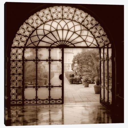 Courtyard in Venezia Canvas Print #ICS31} by Alan Blaustein Canvas Artwork