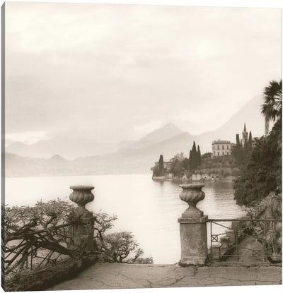 Villa Monastero, Lago di Como Canvas Art Print