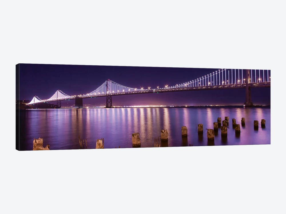 The Bay Lights by Greg Linhares 1-piece Canvas Art
