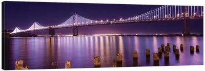 The Bay Lights Canvas Art Print