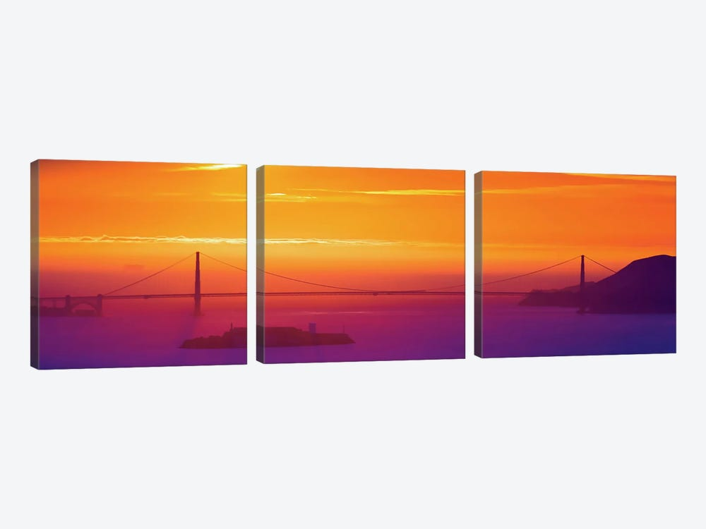 The Sun Gate by Greg Linhares 3-piece Art Print