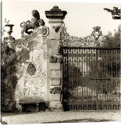 Tuscan Gate Canvas Art Print