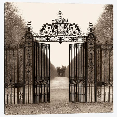 Hampton Gate Canvas Print #ICS35} by Alan Blaustein Canvas Print